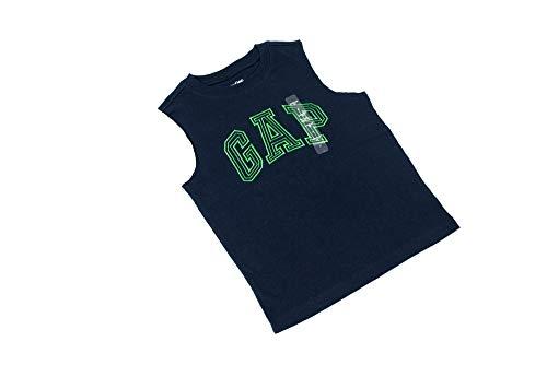 Gap Toddler 3T Navy Blue and Green Sleeveless Tee