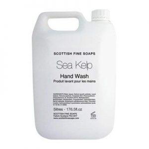 Scottish Fine Soaps Sea Kelp Hand Wash 1 x 5 Litres