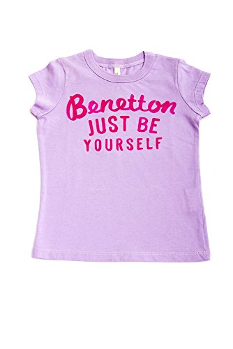 The United Colors of Benetton Girls Top (12-18 Months) Purple