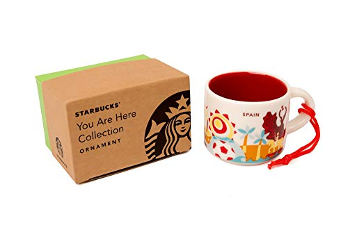 Starbucks You are Here Spain Collection Single Espresso Cup