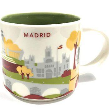 Starbucks You Are Here' Yah City Mug – Madrid, Spain. 14Oz White