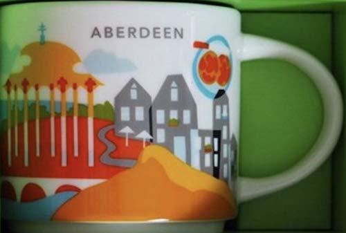 Starbucks You are Here Mug Aberdeen