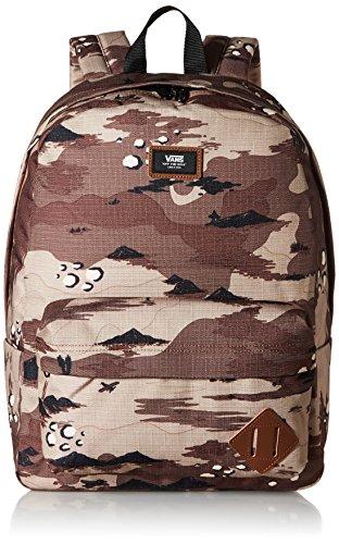 Vans Old Skool Ii Backpack Casual Daypack, 39 cm, 22 L, Storm Camo