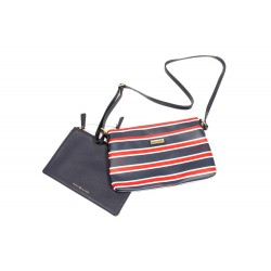 Tommy Hilfiger Striped Crossbody With Pouch Set