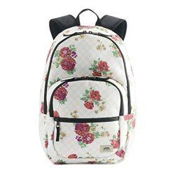Vans Motivee 3-B Large Laptop Backpack (Flower Multi White)