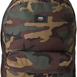 Vans Old Skool Ii Backpack Casual Daypack, 39 cm, 22 L, Classic Camo-Black
