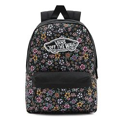 Vans Girl's Realm Backpack, Fun Floral, One Size