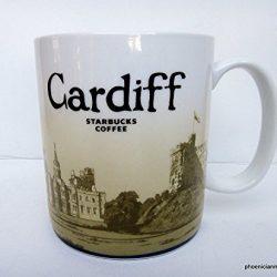 Starbucks Cardiff Wales Coffee Tea Mug 473 ml / 16 fl oz Global Icon Mug Series