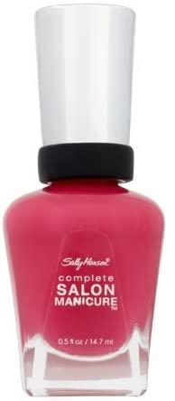 Sally Hansen Complete Salon Manicure Nail Colour 15ml – Back To The Fuchsia