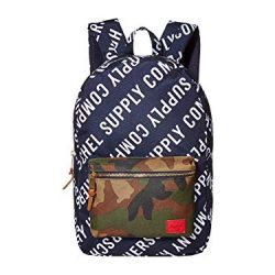 Herschel Supply Co. Settlement Roll Call Peacoat/Woodland Camo One Size