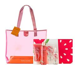 Sanctuary Spa Gift Set, Watermelon Glow Summer Gift Bag