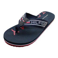 Tommy Hilfiger Men Hilfiger Print 'BONDI 2' Flip Flops/Summer Sandals (8UK/42EU)