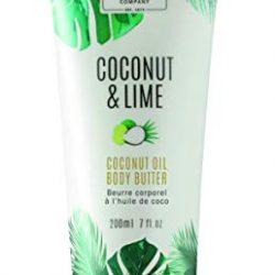 Scottish Fine Soaps Coconut & Lime Coconut Oil Body Butter 200ml Tube