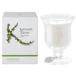Kenneth Turner Celebration scented Candle in Posy Vase (200g) – 50 hours burn time