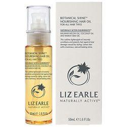 Liz Earle Botanical Shine Nourishing Hair Oil, 50ml