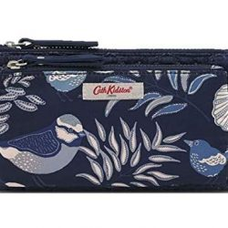 Cath Kidston Embroidered Double Pouch Navy