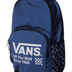 Vans SPORTY BACKPACK Navy Blue White Day pack Daybreak Bag Boy Girl Causal Travel Laptop