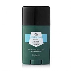 The Body Shop Maca Root & Aloe Fresh Kick Deodorant for Men – Feel and smell your freshest with our Maca Root & Aloe Fresh Kick Deodorant.