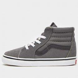 Vans Skater High Tops Infant UK 2.5 in Grey