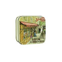 La Savonnerie de Nyons Soap Box The Thirties Shop-100 Grams, Metal, Multi-Colour, One Size