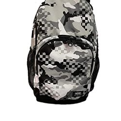 Vans Alumini backpack Black white Camo university school bag casual travel Laptop