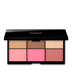 KIKO MILANO – Smart Essential Face Palette – 02 Palette with 6 face powders