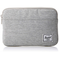 Herschel Men's Anchor Sleeve for iPad Mini Cover, Light Grey Crosshatch, One Size